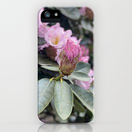 My Life Began With Flowers iPhone Case