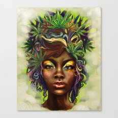 Weed Hairs Canvas Print
