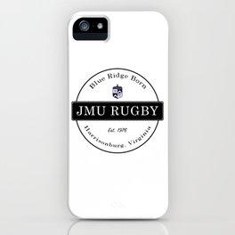 JMU Rugby - Blue Ridge Born iPhone Case