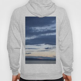 Vermont evening  sky over lake champlain  I Hoody