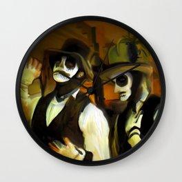Papa Legba Duo Wall Clock