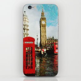 London, England iPhone Skin