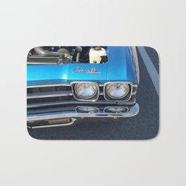Blue Chevelle Bath Mat