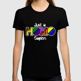 Gay Pride Parade LGBT Lesbian Gay Bi Trans Queer Pan Dark T-shirt