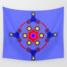 Fidget Spinner Design version 4 Wall Tapestry