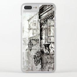 Vilnius oldtown Clear iPhone Case