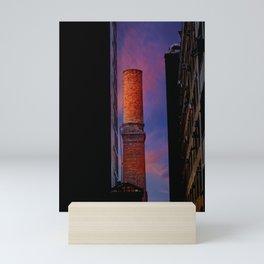 New York Sunset 10 Mini Art Print
