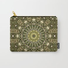 Geometric Forest Mandala Carry-All Pouch