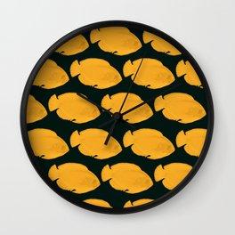 OrangeFish Wall Clock