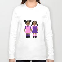 sisters Long Sleeve T-shirts featuring Sisters by Leslie S. Alexander