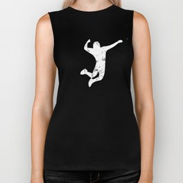 Ultimate Frisbee Player Biker Tank