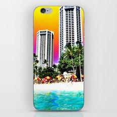 Waikiki Beach iPhone Skin