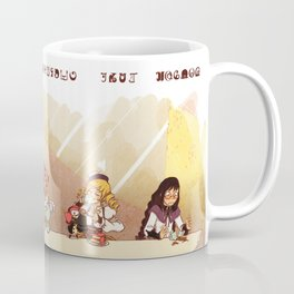 Puella Magi Holy Quintet Tea Party Coffee Mug