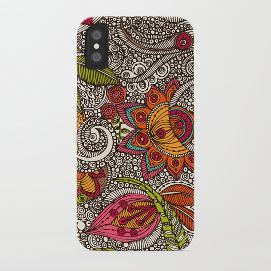 Random Flowers iPhone Case