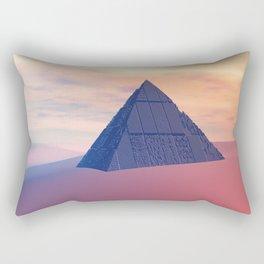 Ancient Pyramid In Desert Rectangular Pillow