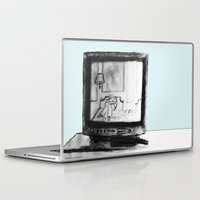 tv Laptop & iPad Skins featuring Television by Brontosaurus