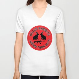 Killer Rabbits Unisex V-Neck