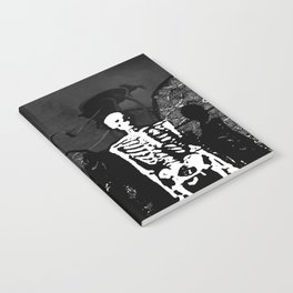 Dr. Hughes And The Skeleton In His Classroom Notebook