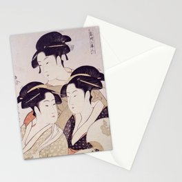 Three Beauties of the Present Day Stationery Cards