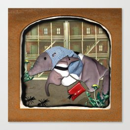 The Deserted Toyshop: Single Mom Canvas Print