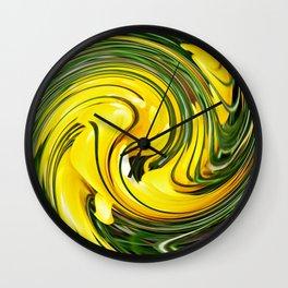 Crocus Swirl 2 Wall Clock