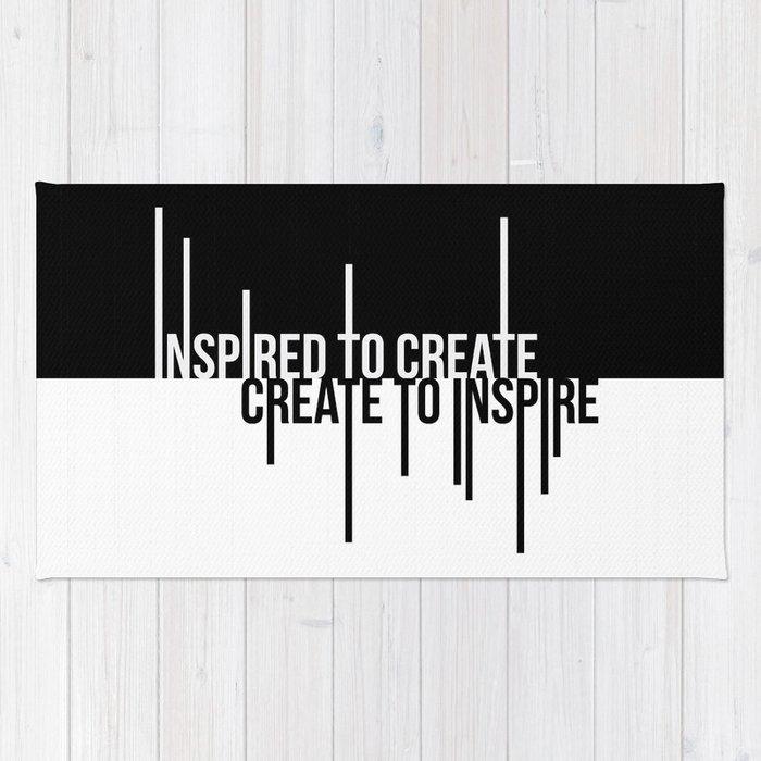 Create to Inspire Rug