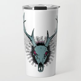 Deer skull Travel Mug