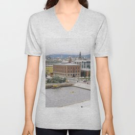 View from the Oslo Opera House Unisex V-Neck