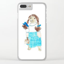 Smitten 2/ Son of Dorothy Clear iPhone Case