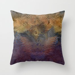 Rising Phoenix Throw Pillow
