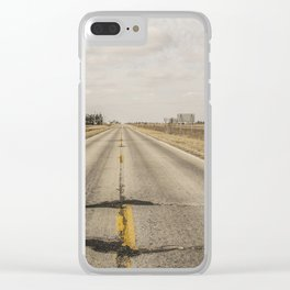 The Mother Road Clear iPhone Case