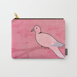 Ring Dove (Streptopelia risoria) Carry-All Pouch
