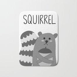 squirrel Bath Mat