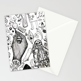 Parallax Universe Stationery Cards