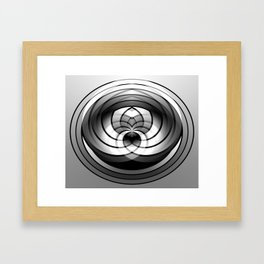 Modern Me Spiral Framed Art Print