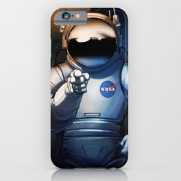 NASA Wants You Vintage Poster from 70s Moon Astronaut Artwork For Prints Posters Tshirts Bags Men Wo iPhone Case