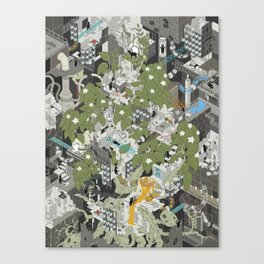 Aperture Science: All science, all the time Canvas Print
