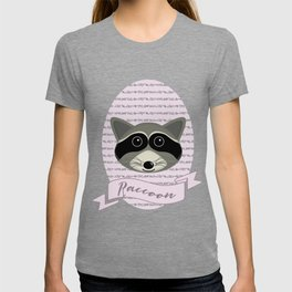Mevrouw Raccoon T-shirt