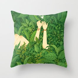 Stay Hot And Sexy Throw Pillow