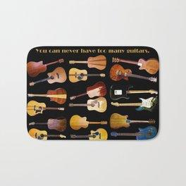 Guitars Galore Bath Mat