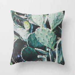 Wild cactus Throw Pillow