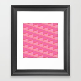 Pink Ascent Framed Art Print