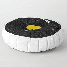 Music, Everywhere Floor Pillow