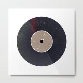 Vinyl Record Star Sign Art | Virgo Metal Print