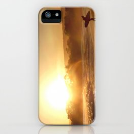 Walking Into the Sun iPhone Case