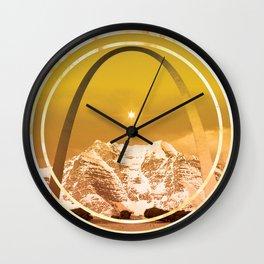Simpple Brewery Gold Wall Clock