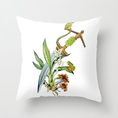 Die By The Sword Throw Pillow