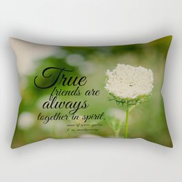True Friends Anne  Rectangular Pillow