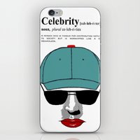 celebrity iPhone & iPod Skins featuring Celebrity by jt7art&design
