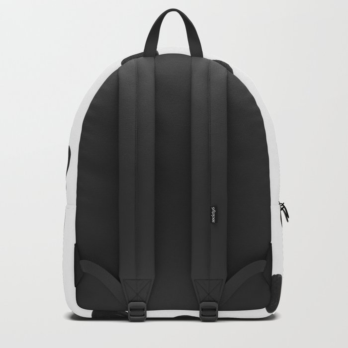 in black dots Backpack